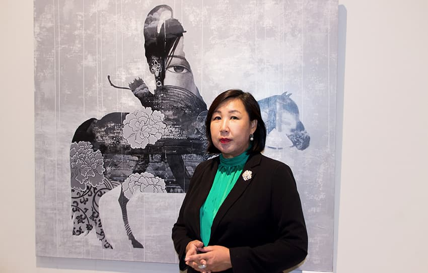 Татьяна Бороноева, директор национального музея Бурятии
