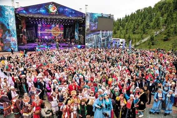 Парад костюмов в республике Башкортостан