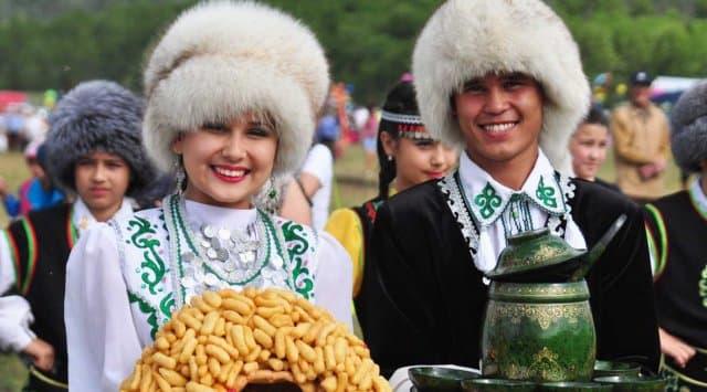 Сабантуй в республике Башкортостан