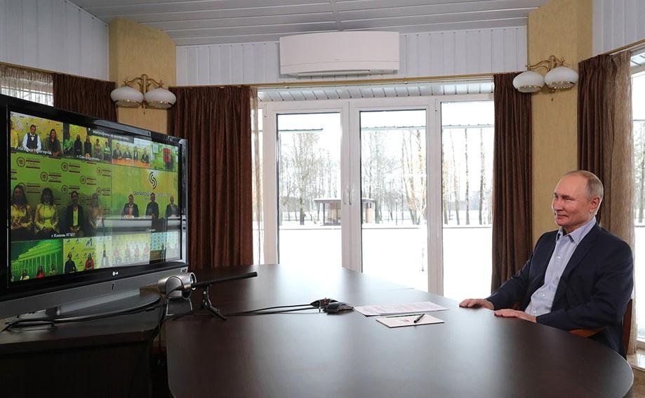 putin ogarevo 1 - Встреча с учащимися вузов по случаю Дня российского студенчества
