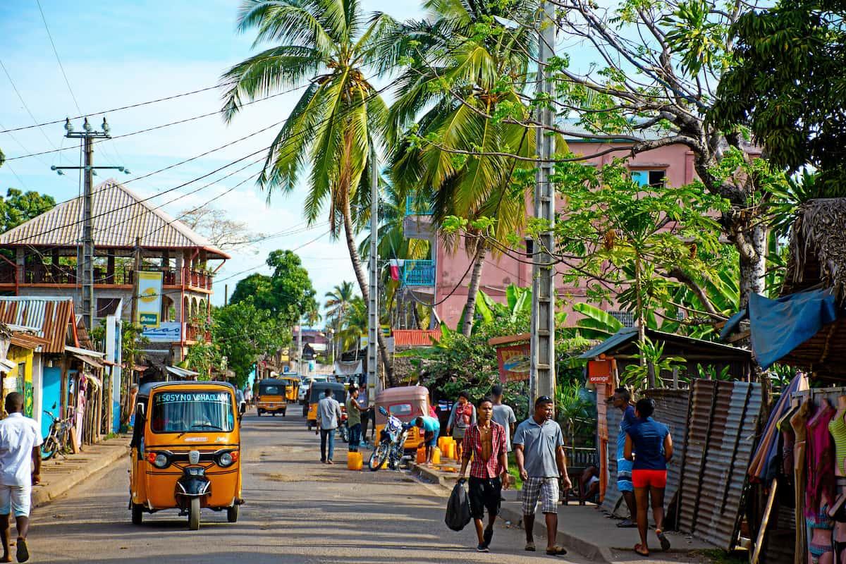 Африканская улица
