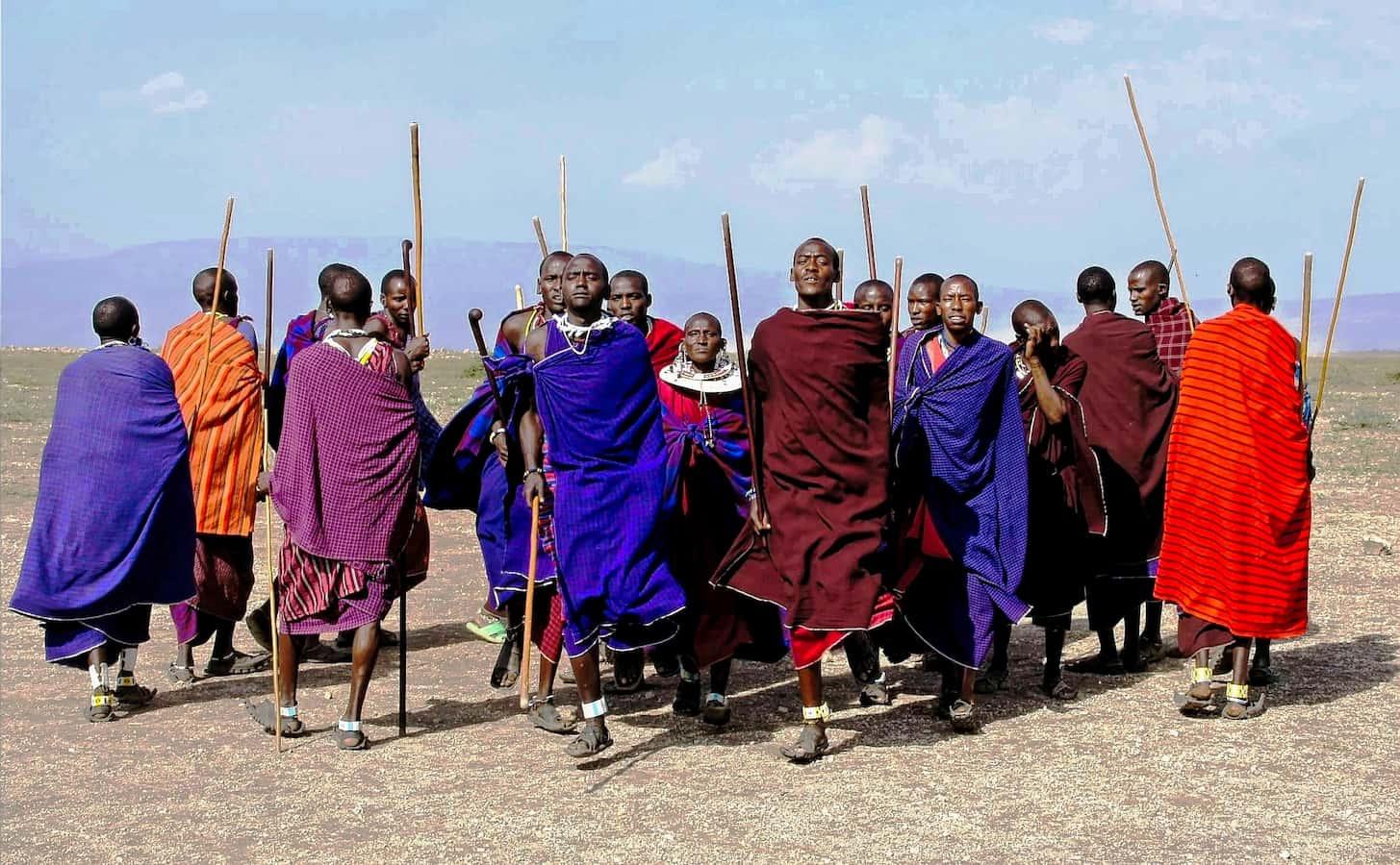 Местные жители Африки