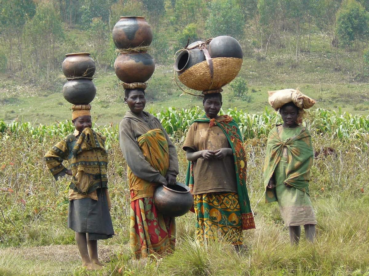 Местное население Африки