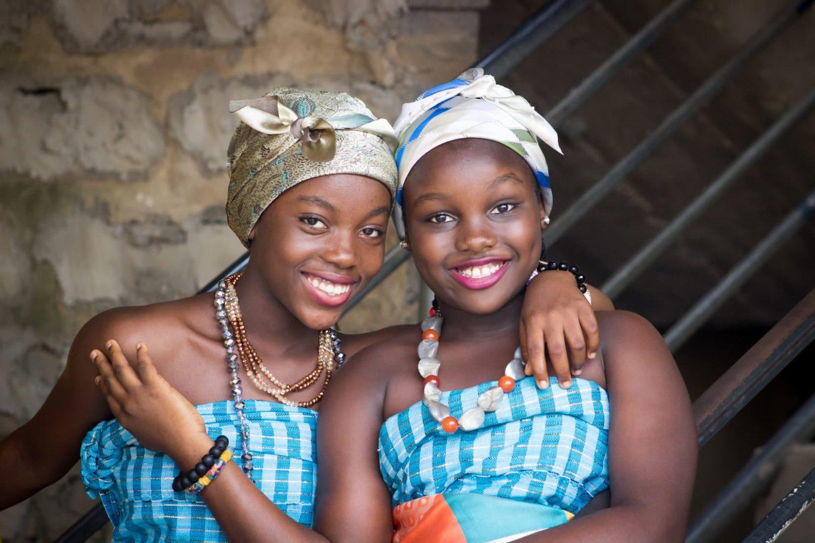 Африканские девушки