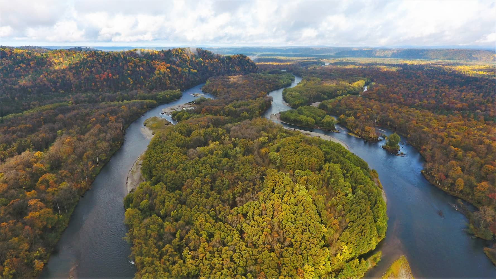 Река Анюй в национальном парке «Анюйский»