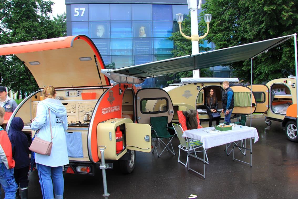 Автодома на российском туристическом форуме «Путешествуй»