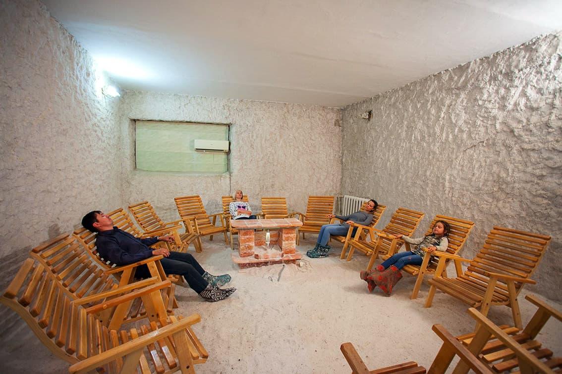 Курорт «Озеро Шира» солевая комната