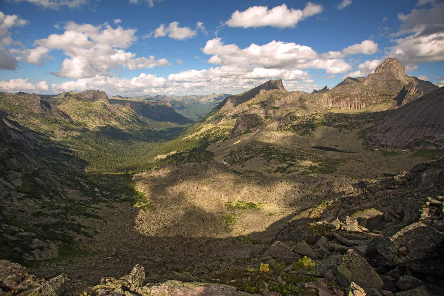 Природный парк Ергаки - хребет Ергаки