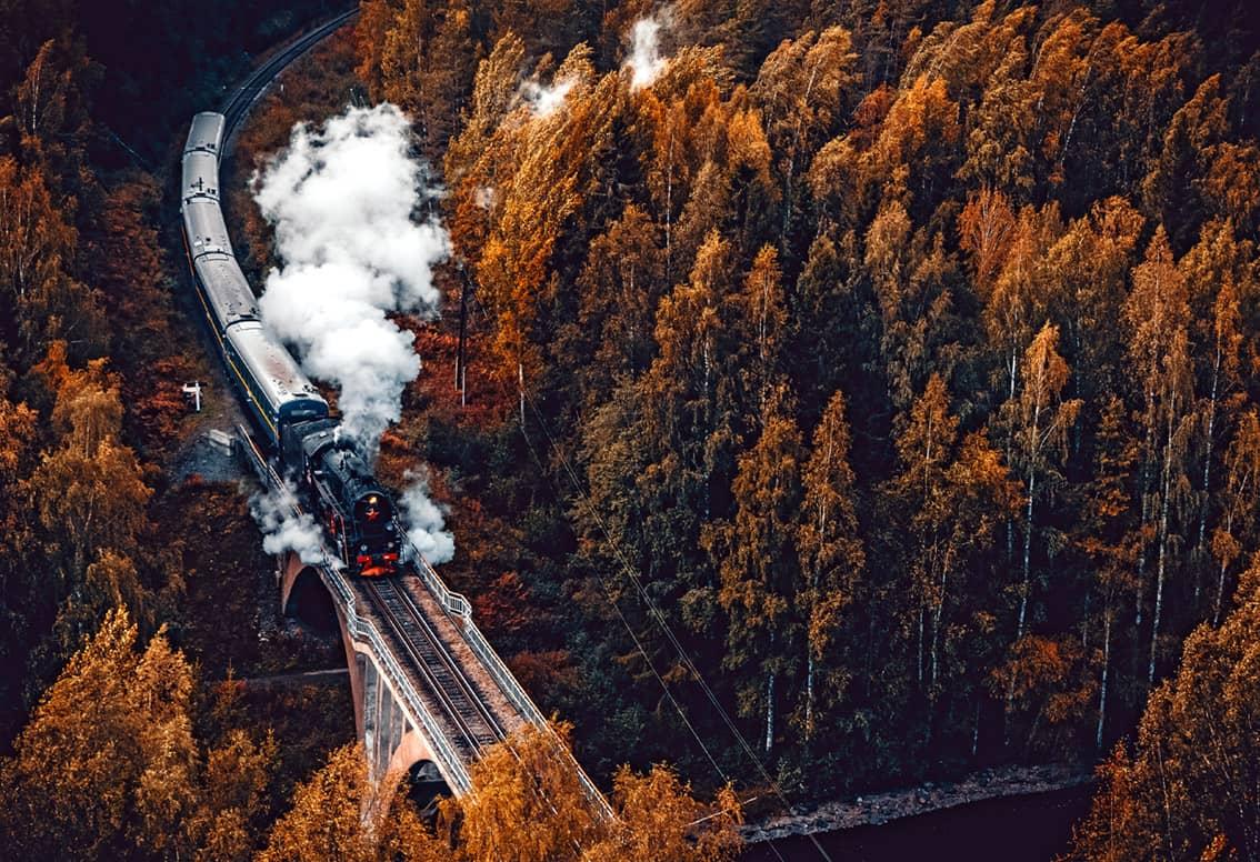 Железные дороги в России