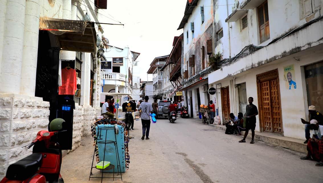 Улица Занзибара