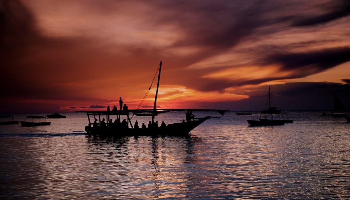 sunset afrika - Занзибар