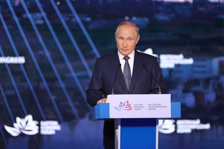 В.В. Путин на Восточном Экономическом Форуме